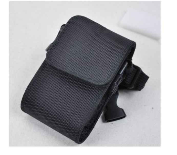 ¥22.00 廠家定製POS皮套保護套 多功能對講機皮套帶挂繩手持機防護套 深圳市