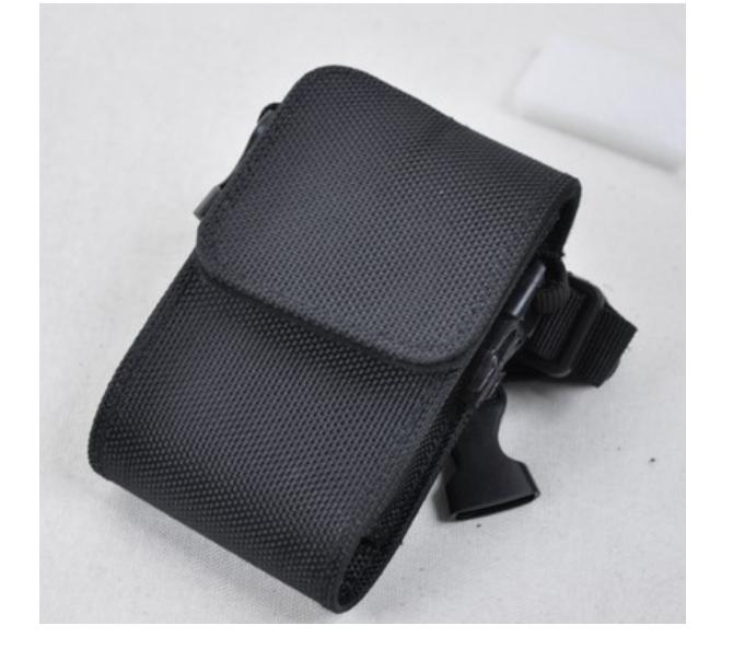 ¥22.00 厂家定制POS皮套保护套 多功能对讲机皮套带挂绳手持机防护套 深圳市