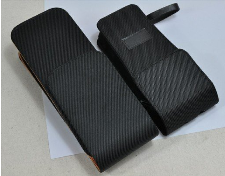 ¥13.00 成交1200 移动终端机PDA保护套 手持POS机皮套 厂家定制刷卡快递扫描仪皮套 东莞市