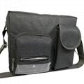 ¥13.00 條碼掃描儀布套 定製背夾挂腰手持終端套 尼龍數據採集器PDA皮套 東莞市琪