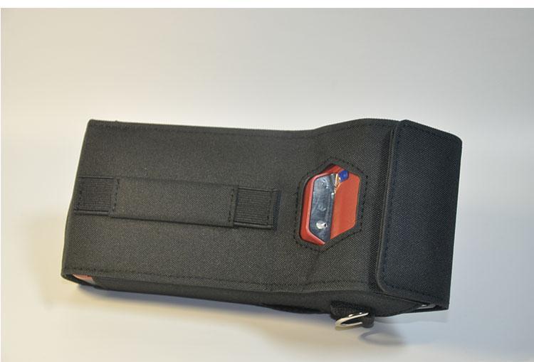 POS机保护套 肩带数据采集器尼龙布套 快递物流手持终端机PDA皮套 9