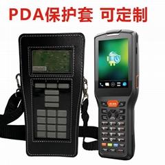 定製掃描儀皮套 手持終端機PU防水POS儀皮套保護套 掃碼儀器皮套