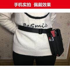 PDA掃描儀POS刷卡機服務員腰包手機對講機袋點餐平板iPad斜挎包