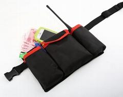 酒吧餐廳網咖KTV服務員腰包商場超市家政保潔多功能腰包定製LOGO