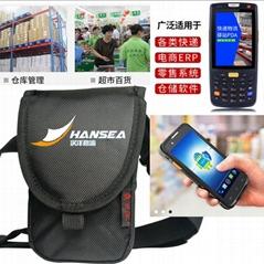 热敏票据打单机背包-标签打印机包定制-快递电子面单打印机腰包