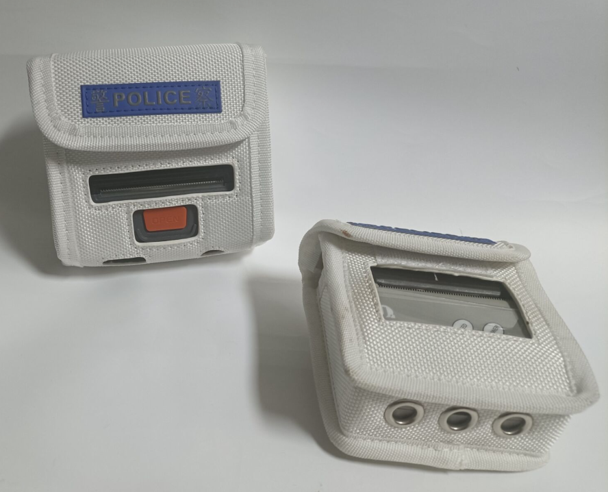 便携式打印机包 移动执法打单机腰包 票据标签打印机包