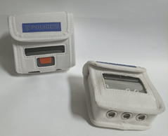 便攜式打印機包 移動執法打單機腰包 票據標籤打印機包