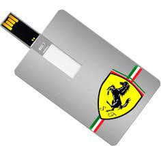 USB flash drive credit card style