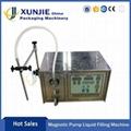 Magnetic Pump Semi-automatic Liquid Filling Machine