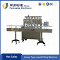 Linear Type Liquid Filling Machine