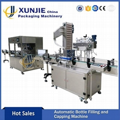 Automatic Soybean Oil Filling Line