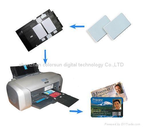 PVC 打印卡盘 2