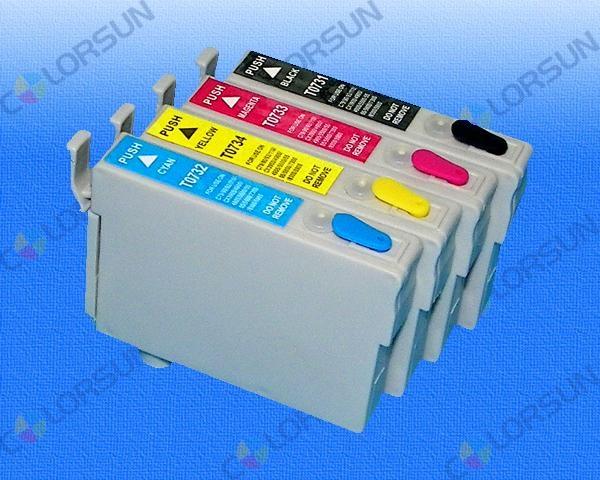 EPSON無海棉填充墨盒-分體式 3