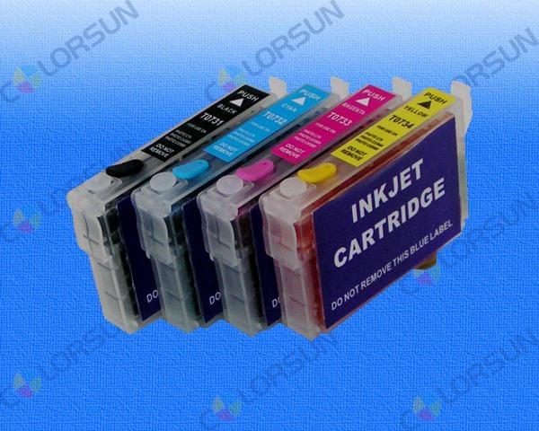 EPSON無海棉填充墨盒-分體式 4