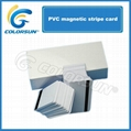 Plastic Magnetic Stripe Blank PVC Card