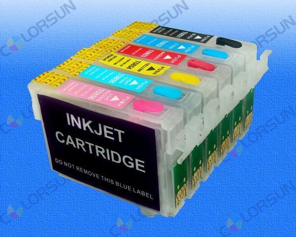 EPSON無海棉填充墨盒-分體式 1