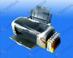Continual ink supply system for sublimation ink
