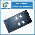 PVC Printing Card Tray for Canon