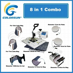 8 in 1 heat press machine (Hot Product - 2*)