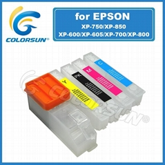 refill ink cartridge with ARC for XP600/XP605/XP700/XP800/XP750/XP850