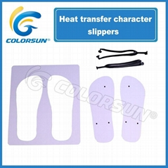 heat transfer character slippers