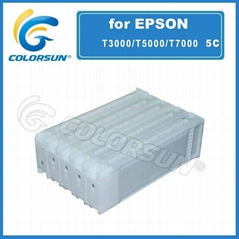 Large Refillalbe Cartridge ciss for epson t3000 t5000 t7000