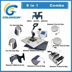9 in 1 heat press machine (Hot Product - 1*)