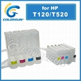 Ciss for HP  T120 T520 Series for hp711 cartridge 1