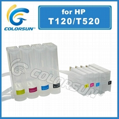 Ciss for HP  T120 T520 Series for hp711 cartridge
