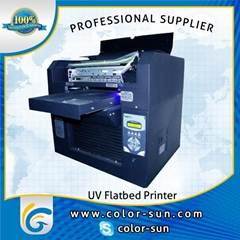 a3 size direct plastic printing machine with uv led technology