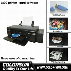 L800 printer with CARDS Software