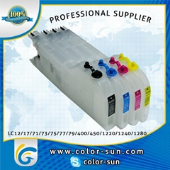 LC40/LC73/LC77,LC71/LC75/LC79 Refillable Cartridge