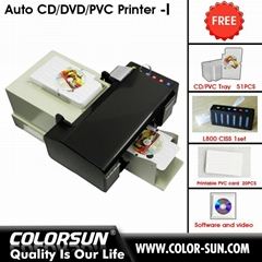 CD Disc Auto Printer for print CD/DVD and inkjet cards  (Hot Product - 1*)