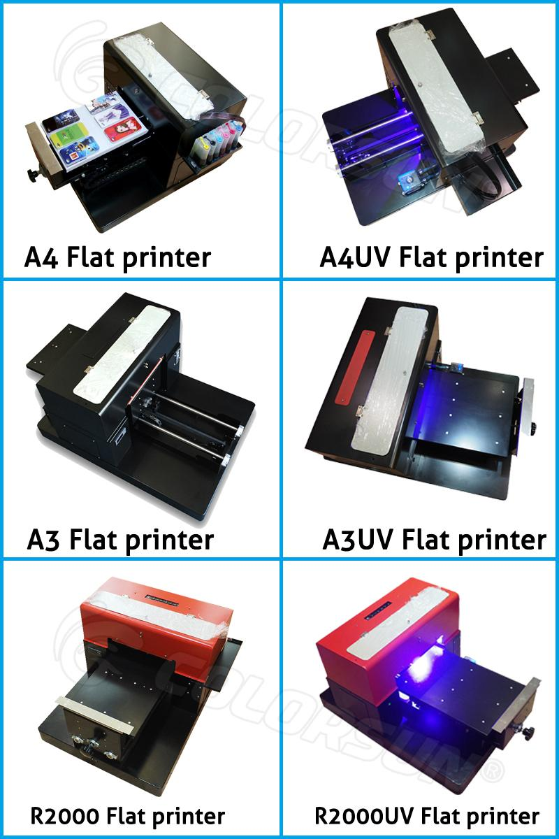 2017 New upgraded A4 UV  Flatbed Printer 4