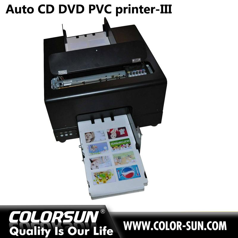 2016 new whole sales automatic digital inkjet PVC card and cd disk printer  4