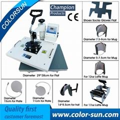 9合1热转印机器