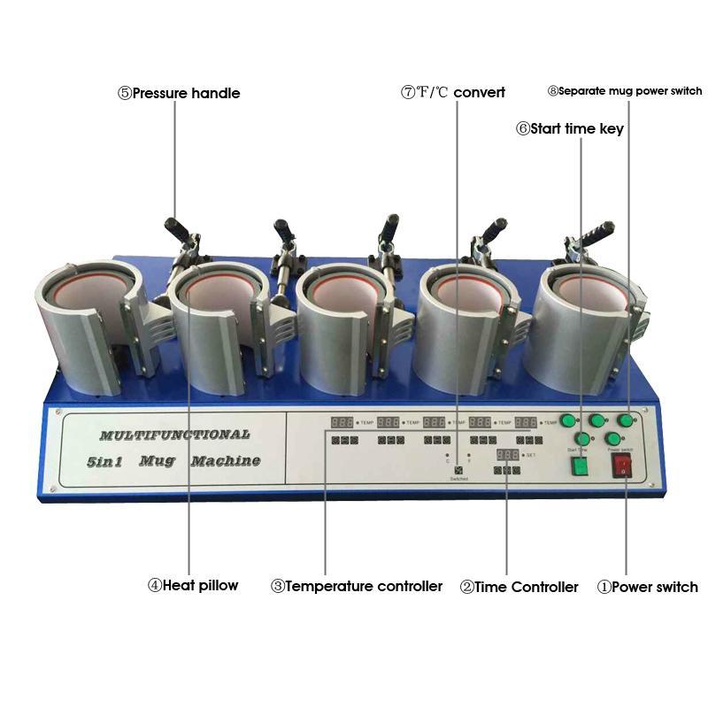 五工位烤杯机 3