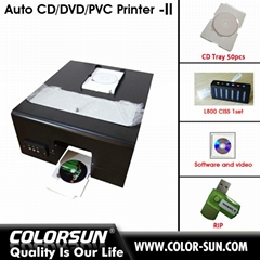 Auto CD DVD PVC printer-II (Hot Product - 1*)