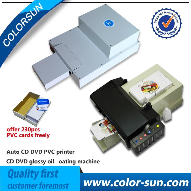 自动cd / dvd打印机+光滑的涂油机 1
