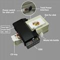 自动cd / dvd打印机+光滑的涂油机 3