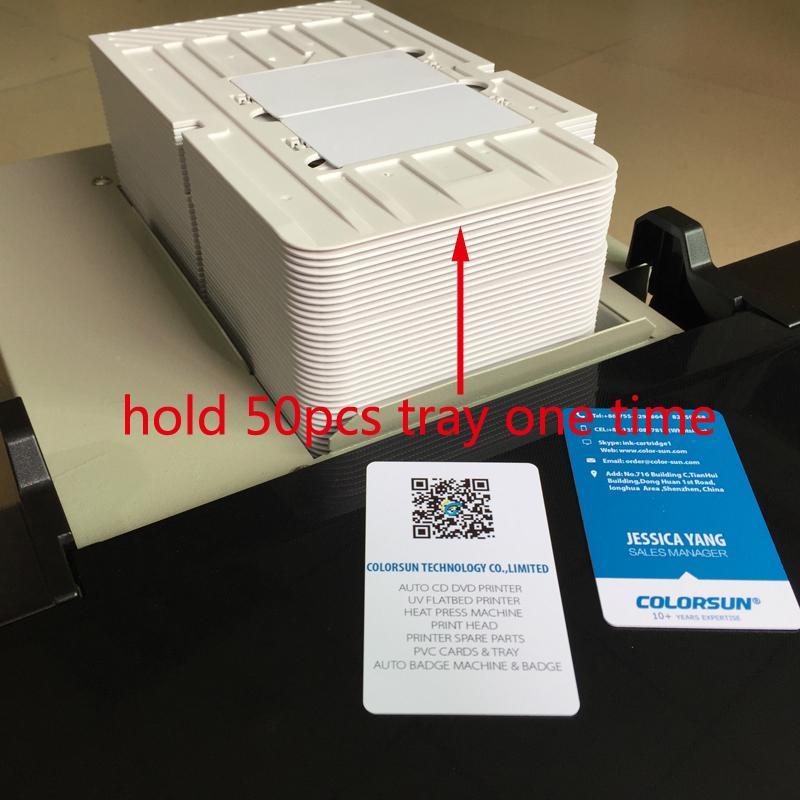 自动cd / dvd打印机+光滑的涂油机 4