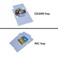 PVC 托盘用于自动CD 打印机 2
