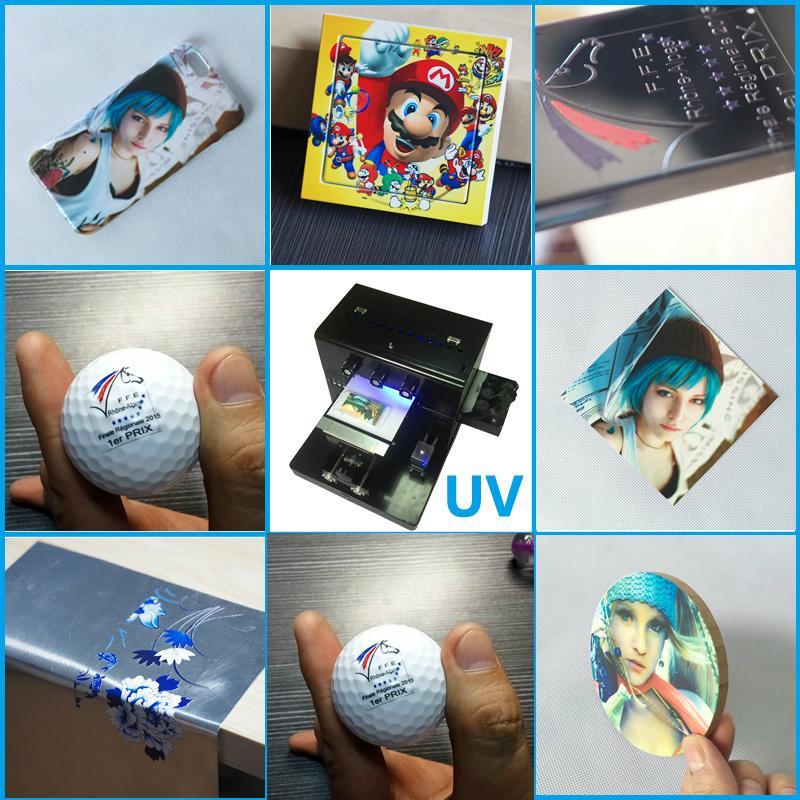 帶筆記本電腦的A3 UV平板打印機 5