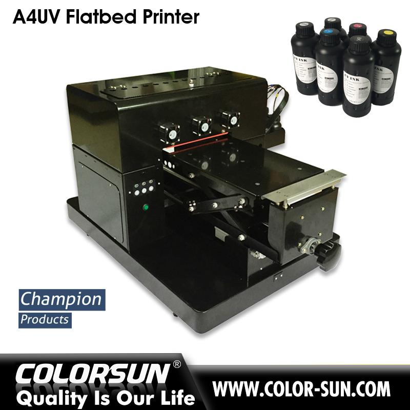2017 New upgraded A4 UV  Flatbed Printer 2