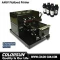 2018 New upgraded A4 UV  Flatbed Printer 3