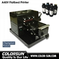 2018 New upgraded A4 UV  Flatbed Printer with laptop