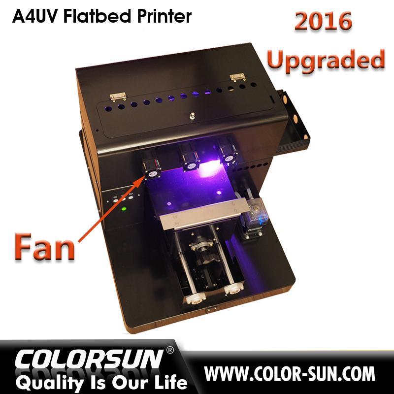2016 New upgraded A4 UV  Flatbed Printer 1