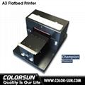 A3 Size Flatbed Printer T-Shirt Printer