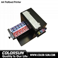 A4 size uncoating Flatbed Printer 4