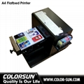 A4 size uncoating Flatbed Printer